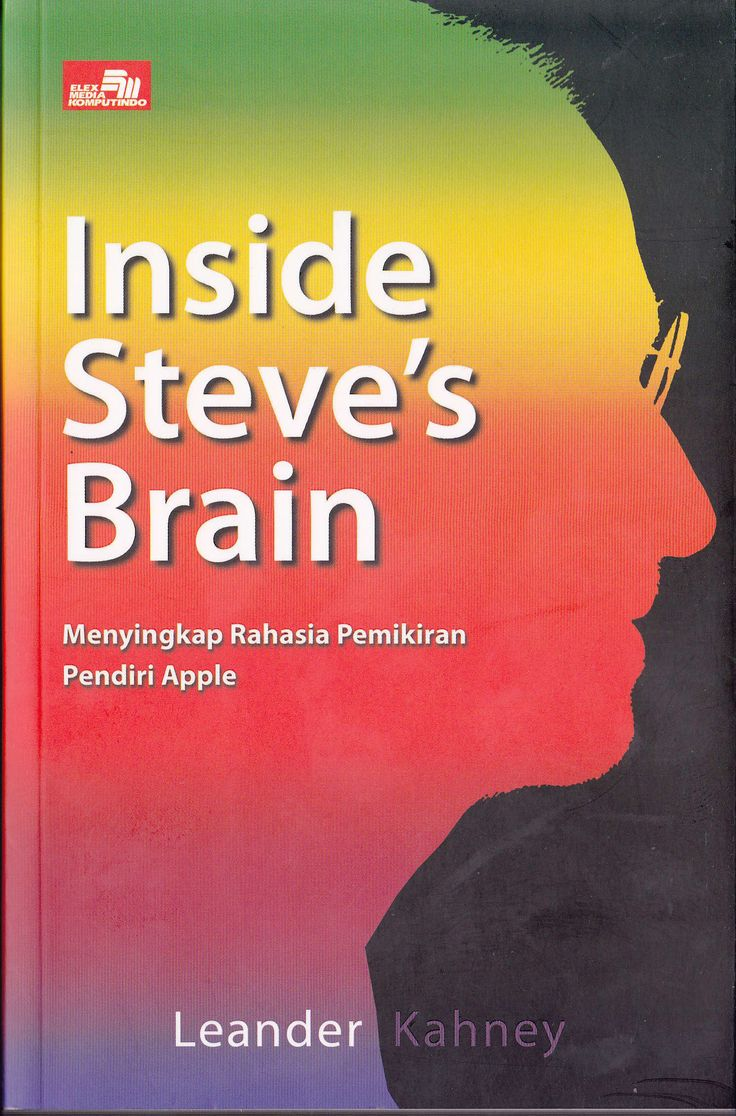"""Inside Steve's Brain"" Leander Kahney #buku #sewabuku #perpustakaan"