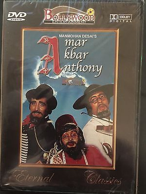Amar Akbar Anthony,  DVD, Bollywood Film, Hindu Language, English Subtitles, New