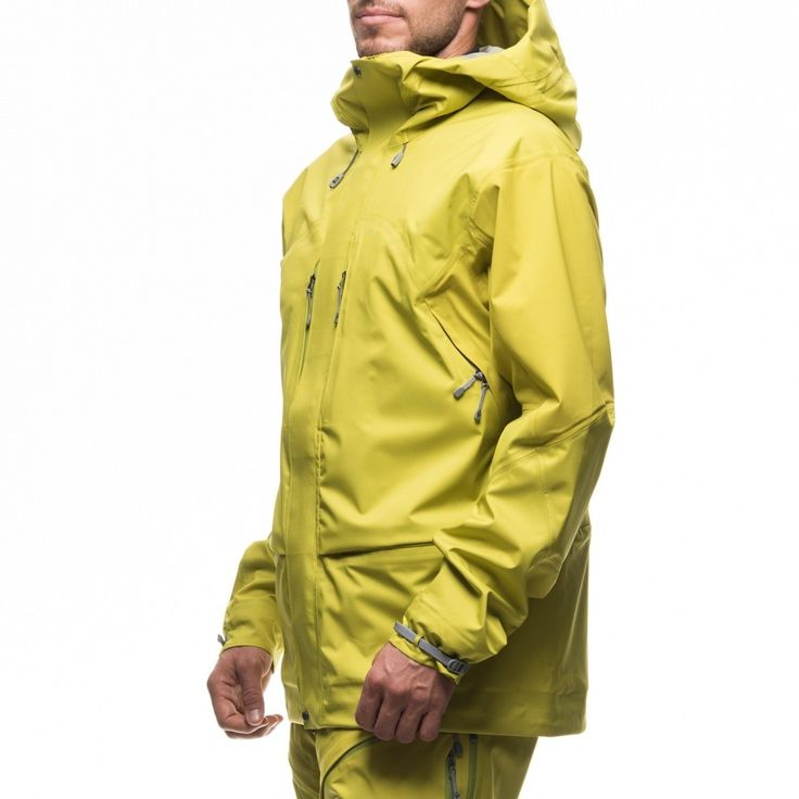 Houdini M's Bedrock Jacket Green Machine - Skijakker - Jakker - Herre - Produkter
