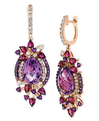 17 best images about 3 amethyst for christmas on for Macy s jewelry clearance