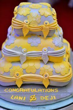 yoruba engagement cake - Google Search