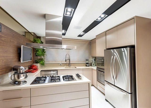 cozinha-moderna-em -u