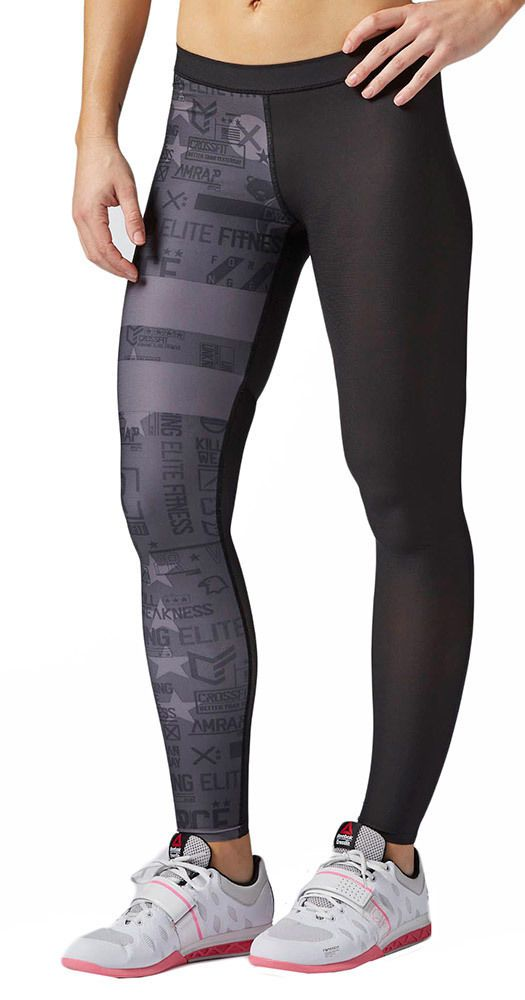 Tights Reebok Crossfit Comp Tight Stripes in Sporting Goods, Fitness, Running & Yoga, Fitness Clothing & Accessories | eBay