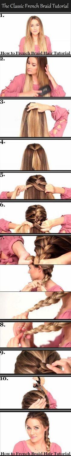 French braid trick