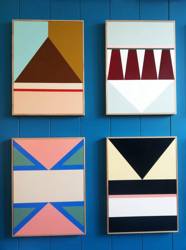 Best 25+ Geometric painting ideas on Pinterest | Geometric art ...