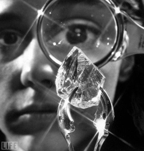 In 1905, the largest diamond (ever), Pretoria, South Africa.