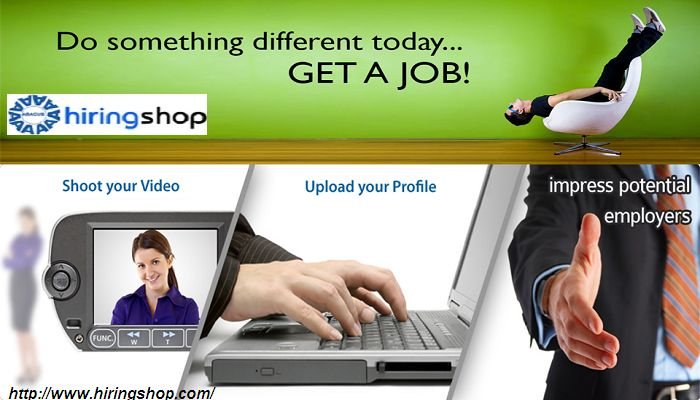 No matter where you are in your career, chances are you're in need of a little motivation to get to the next step—to go for the job you'll actually love make your video CV from #HiringShop which is #bestonlinejobportalforvideoCV. Just click at here for more details:-