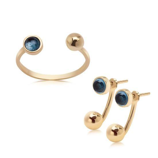Komplet Walentynkowy Dolce Oro, 995 PLN.  www.YES.pl/55528-komplet-walentynkowy-dolce-oro-ZW-Z-Z14-N00-EW10739-FW10739 #jewellery #buyonline #heart #love #YESforRomance #perfect #shop #freedelivery #Poland #BizuteriaYES