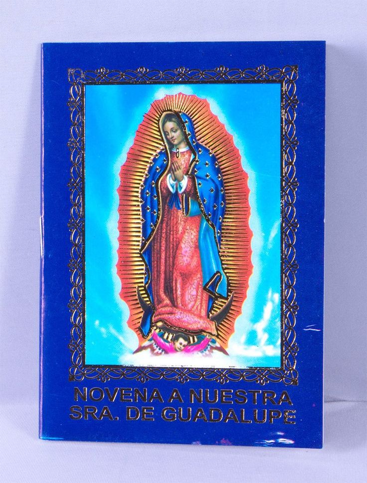 Spanish Novena for Our Lady of Guadalupe RI10998GU
