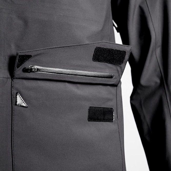 Aether Apparel Cascade Men's Rain Jacket. Details