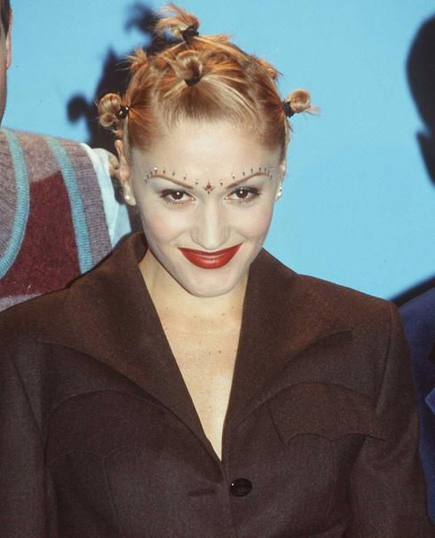 mutli,chignons tendance coiffure des années 90
