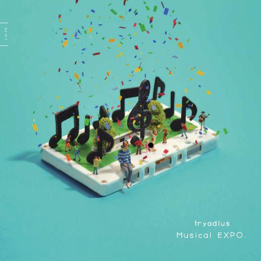 【8/12 2ndアルバム発売】来る8/12,2ndアルバム「Musical EXPO.」を邂逅よりリリースします!!おもちゃ箱のサウンドから飛び出し,よりスケールアップした楽曲はまるで万博!ぜひこのポップミュージックをご堪能下さい!