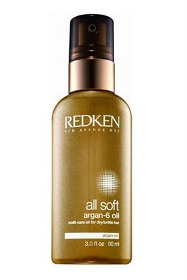 Redken Aragon Oil Serum.  1 Luxurious oil. 6 amazing uses. Intensely nourish and protect dry, brittle hair. With Omega-6 enriched argan oil provides concentrated softness, deep conditioning and lasting suppleness. Versatile treatment can be used in six ways. Use before you shampoo or blow-dry for added moisture, after you blow-dry to smooth and block humidity, on damp hair or dry hair to boost shine, added to treatments to intensify replenishment or overnight for deep nourishment.