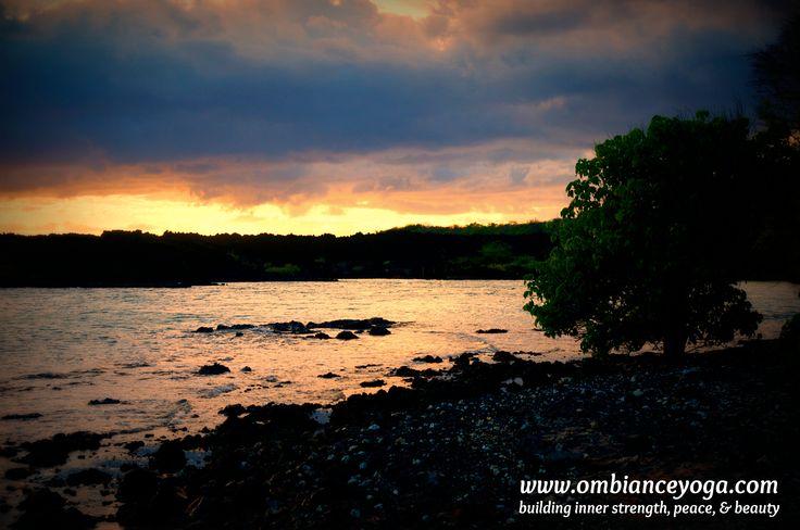 Sunset in Waimea - Maui, Hawaii