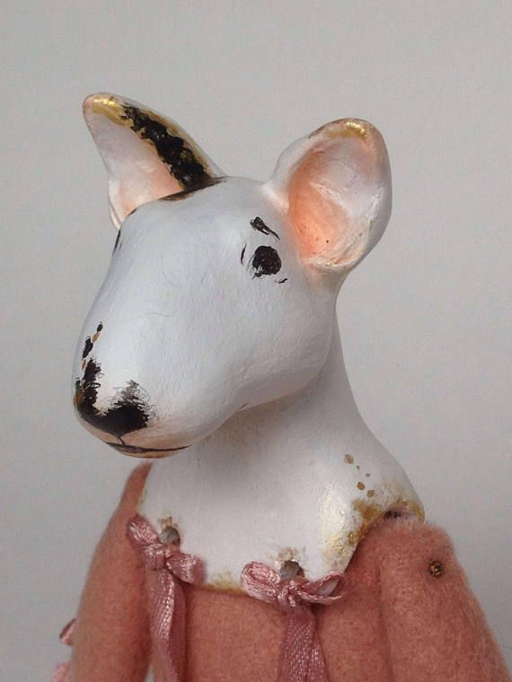Check out this item in my Etsy shop https://www.etsy.com/listing/555251330/gold-dog-bull-terrier-pink-gold-art-dog