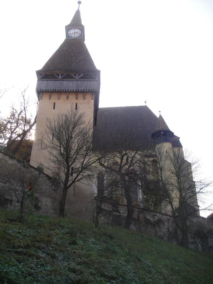 Saxon Citadel of Biertan, Transylvania