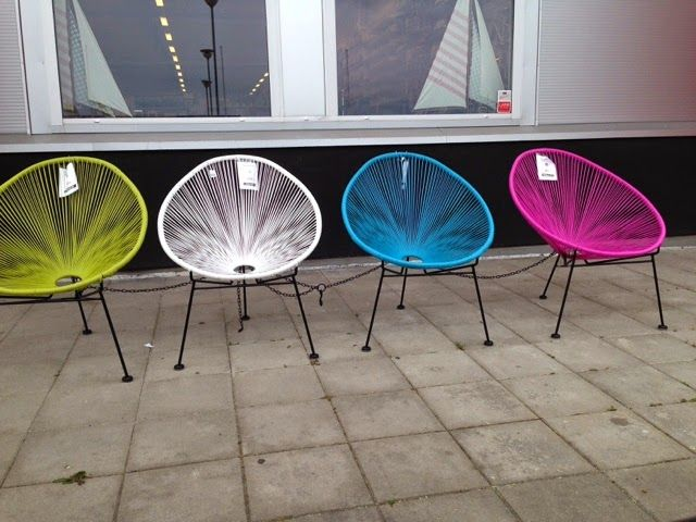 RetroBloom: Retro stol till balkongen