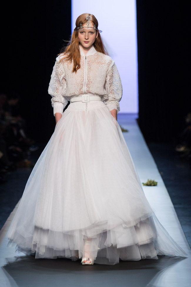 Jean Paul Gaultier Haute Couture primavera estate 2015 | Abiti da sposa
