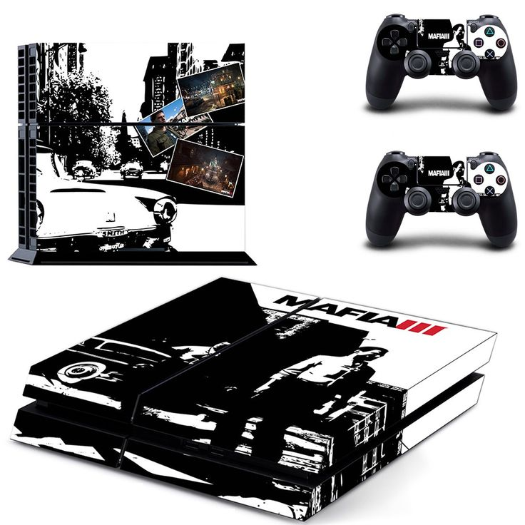 mafia 3 ps4 skin for console and controllers