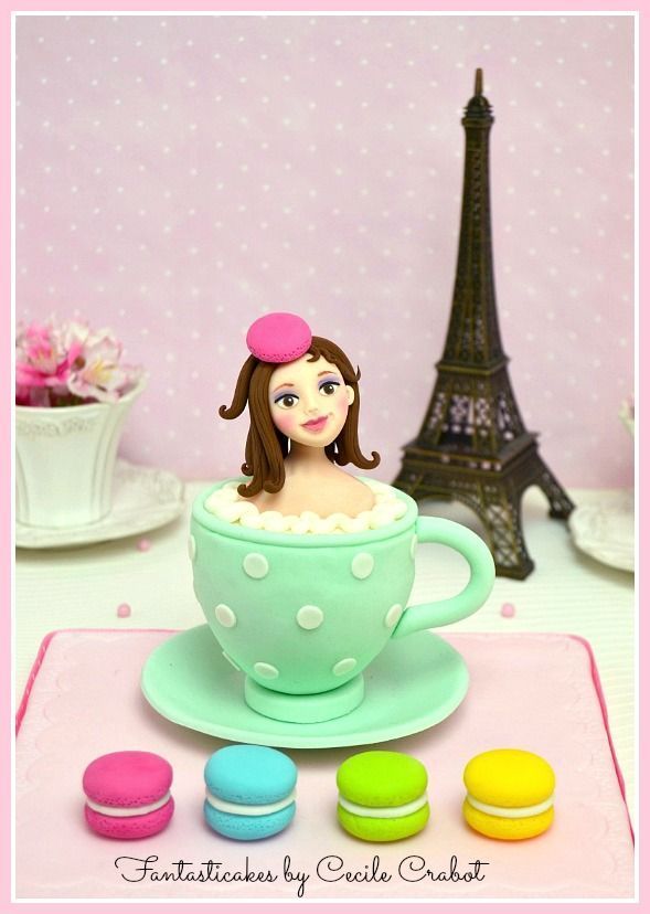 The next week I will teach my Mademoiselle Macaron at the ...