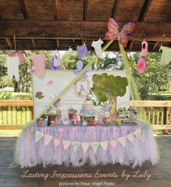 fairy garden party baby shower party ideas gardens tablecloths and