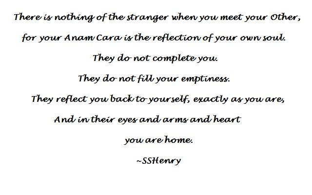 My Anam Cara