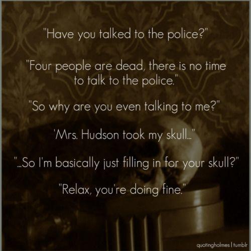 Sherlock BBC Quotes |