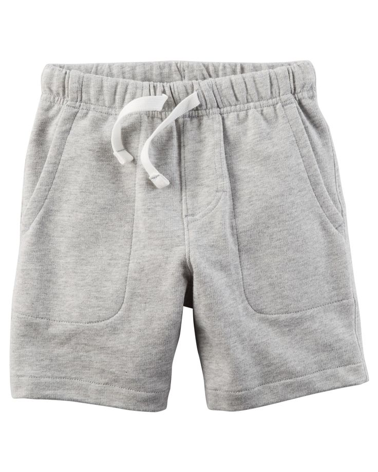 Toddler Boy Easy Pull-On French Terry Shorts | Carters.com