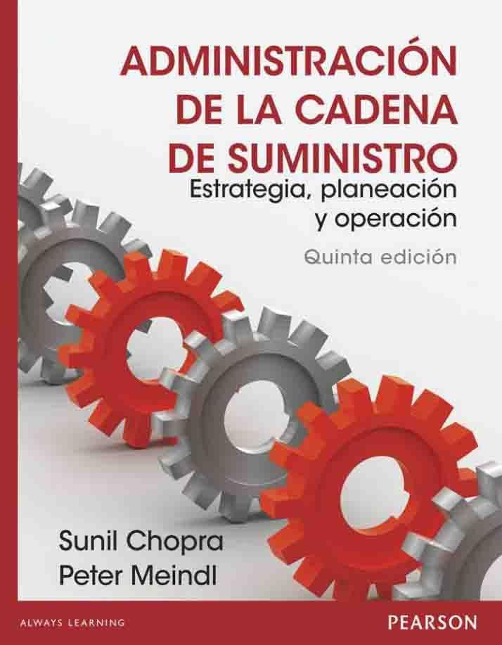 administracion de la cadena de suministro sunil chopra pdf descargar