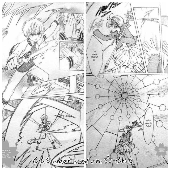 Ch 13 CCS Clear Card Arc Spoilers | Cardcaptors | Cardcaptor sakura, Manga anime, Clear card
