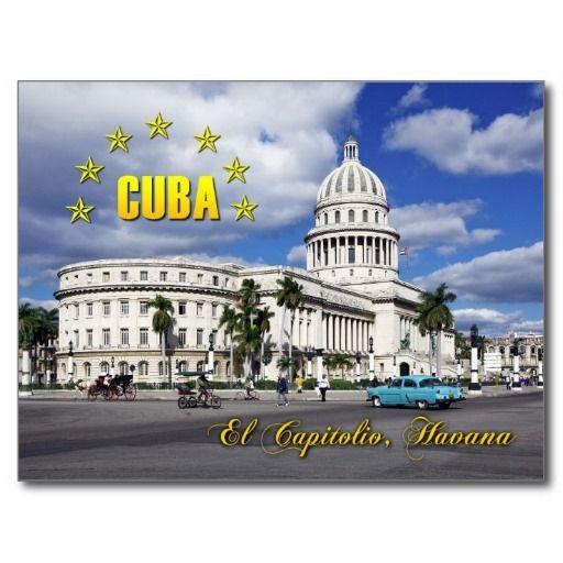 EL Capitolio (capitolio nacional), La Habana, Cuba. #tarjeta #postal #postcard