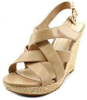 Jessica Simpson Jamallo Women Open Toe Synthetic Wedge Heel.