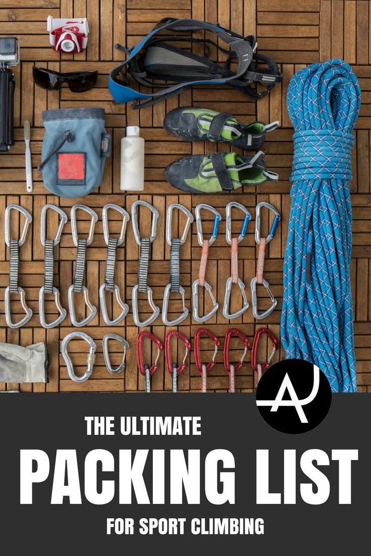 Sport Climbing Gear List - Best Rock Climbing Gear Articles – Climbing Products For Men and Women via @theadventurejunkies