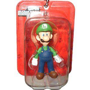 Luigi Figure - New Super Mario Bros. Wii Mini Blister Collection Takara Tomy Nintendo @ niftywarehouse.com #NiftyWarehouse #Mario #SuperMario #Nintendo #VideoGames #Gaming #MarioBrothers