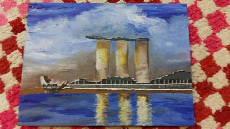 Peinture Acrylique (Singapour)