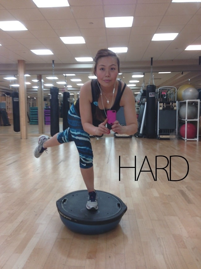 Bosu ball exercises to work your core...with out a single crunch1