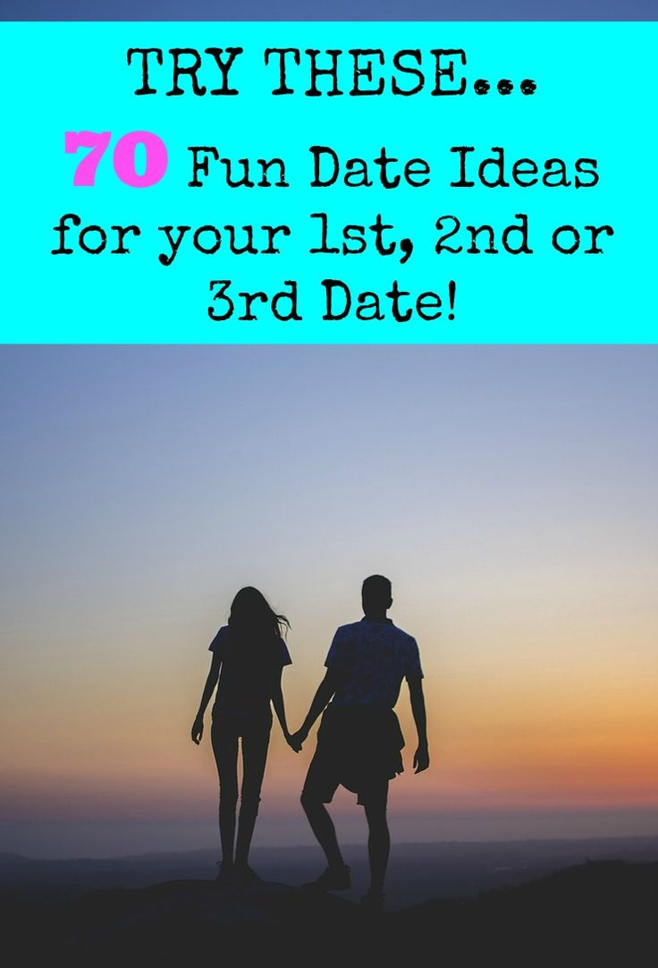 A list of fun date ideas for you to try out on your 1st, 2nd or 3rd date!