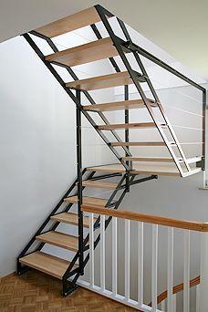 Offene Treppe. Architektur und Design mit Holz und…