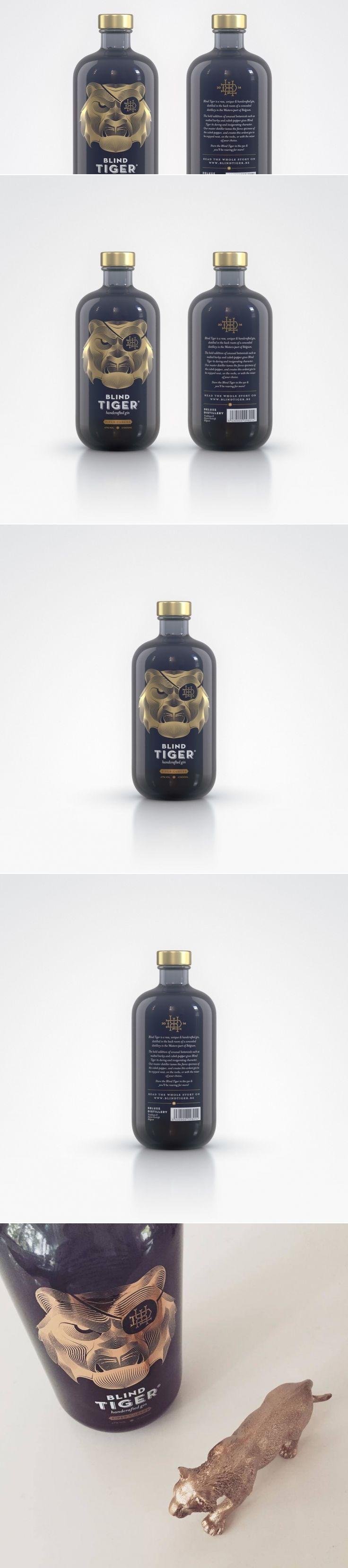 Blind Tiger Gin — The Dieline | Packaging & Branding Design & Innovation News