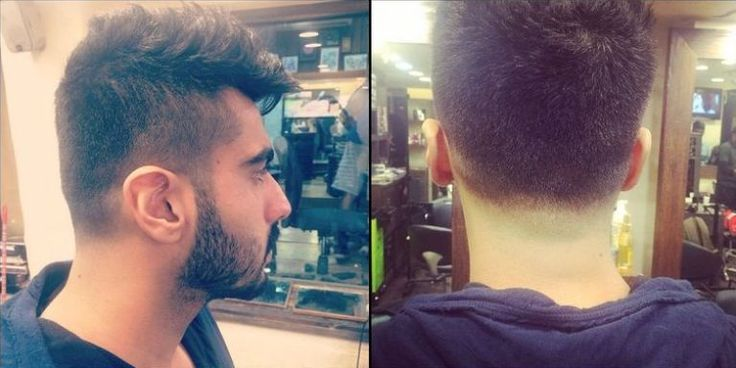 Arjun Kapoor's Latest Haircut of Mohawk Style http://www.vishwagujarat.com/entertaintment/arjun-kapoors-latest-haircut-of-mohawk-style/