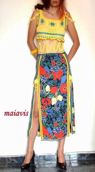 Maxi Dresses – Summer Dress – a unique product by maiavis on DaWanda