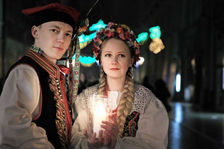 Have you seen Krakow traditional outfit?