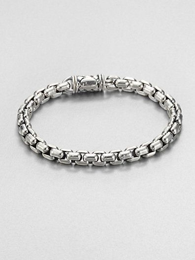 Go-To Piece | Scott Kay Sterling Silver Chain Bracelet | Jewelry & Style for Men