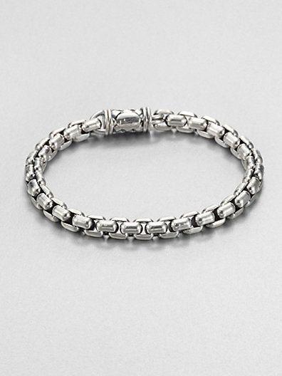 Go-To Piece | Scott Kay Sterling Silver Chain Bracelet | Jewelry & Style for Men