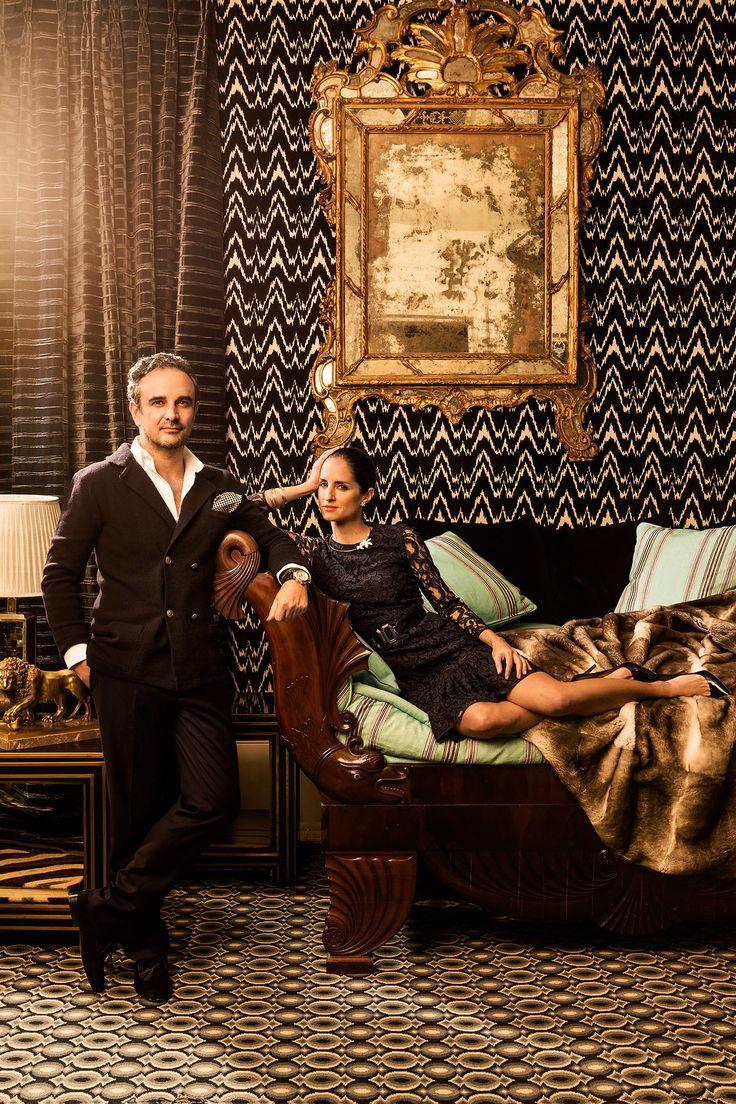 Lorenzo Castillo and Carolina Herrera Jr. Styled by The Editors