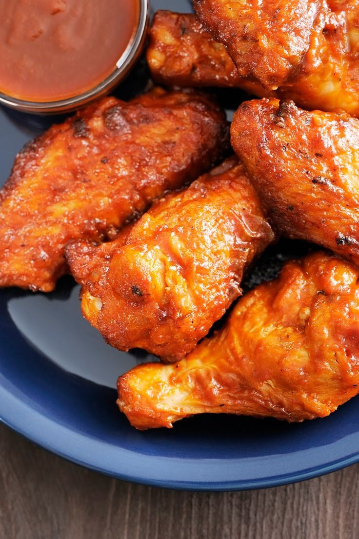 My most popular chicken wing recipe ever! Kickin' Buffalo Chicken Wings. The best recipe out there and they go fast! So good!