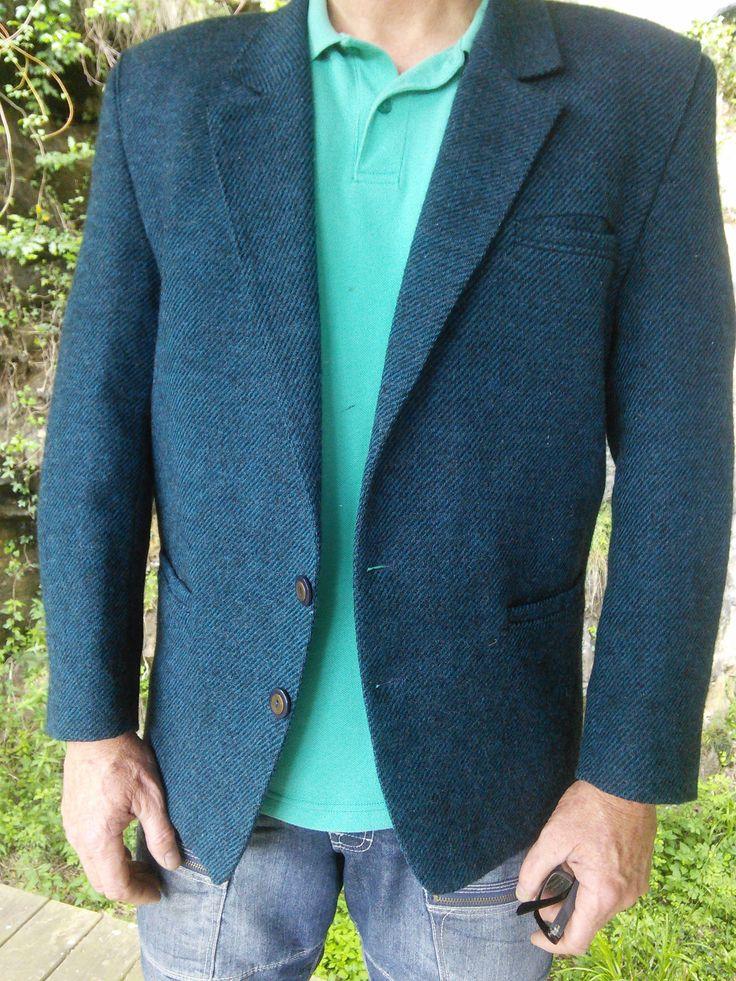 Mens Blazer Sports Jacket Coat French Vintage Retro De Fursac by WindowsOfParis on Etsy
