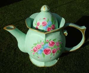 diy huge paper mache teapot