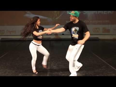 Mr. Dragon (Drago Amsterdam) and Bruna Sousa zouk demo - YouTube
