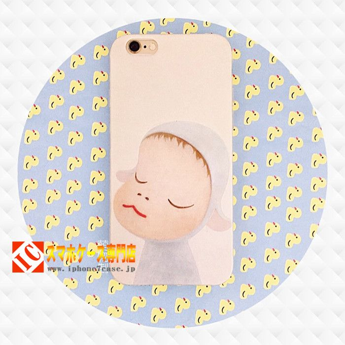 奈良美智iphone7ケース6s立体浮き彫りシリコン製日系オリジナルアイフォン6plusソフト携帯カバー